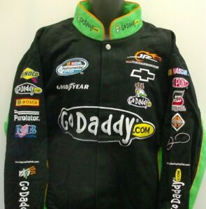 Danica Patrick Go Daddy.com Chase Authentic's Jacket Size - 4XL Free Ship # 7