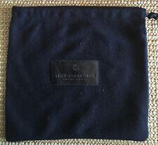 Nancy Gonzalez Dust bag Empty Handbag Evening Brown Logo 9 X 9 Inch New