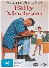 BILLY MADISON (Adam SANDLER Bridgette WILSON Darren McGAVIN) DVD NEW Reg 2 & 4