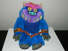 Vintage Toymax 2001 My Pet Monster TALKING Plush Works with chain cuffs