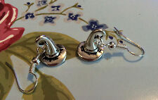 Free Gift Bag Silver Plated Sorting Hat Dangle Earrings Jewellery Harry Potter