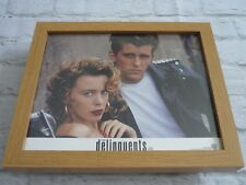 Framed Lobby card Front house Press Promo Photo Delinquents kylie minogue cast