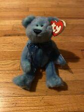 Ty Attic Treasures Azure Blue Bear