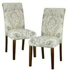 *NEW* *Set of 2* Avington Accent Dining Chairs Plazzo Beech by Skyline Furniture