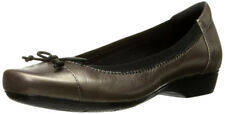 New Clarks Collection BLANCHE NORA Leather Women Shoes Sz 9.5 pwtr