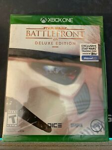 Star Wars Battlefront Deluxe Edition Microsoft Xbox One New Sealed Walmart Exc