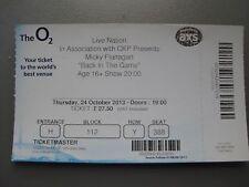 MICKY FLANAGAN  O2 LONDON  24/10/2013 TICKET