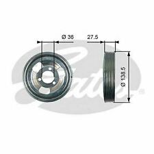 CRANKSHAFT BELT PULLEY TVD DAMPER GATES OE QUALITY REPLACEMENT TVD1117
