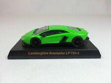 1:64 OEM Lamborghini Aventador LP720-4 50th Anniversario Green Dealer Event Ed.