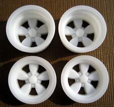 Resin 1/25 American 200-S Daisy Mag Wheels - Wide & Narrow Set