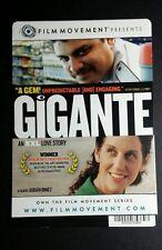 GIGANTE ADRIAN BINIEZ FILM MOVEMENT PHOTO MINI POSTER BACKER CARD (NOT A movie )