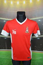 BRADFORD CITY FC BANTAMS NIKE FOOTBALL SHIRT (M) JERSEY TOP TRIKOT MAGLIA