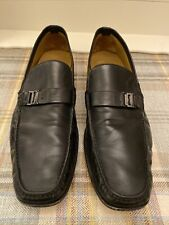 Mens Black Magli By Bruno Magli Leather Shoes Uk12.5