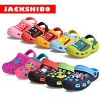 Kids Clogs For Toddler Boys Girls Big Kids Garden Beach Water Slip-on Pool Shoes