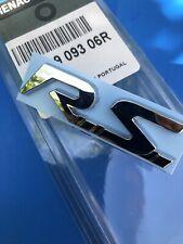 LOGO RS Calandre RENAULT SPORT MEGANE III 3 MK3 ORIGINAL BADGE 638909306R