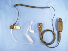 For Motorola HT 750 1250 1250LS 1550 PTX780 760 Acoustic Tube Headset Microphone