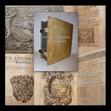 MARIO de BIGNONI da Venezia, Raccolta Opere Messe all'Indice 1663 - 3 voll in 1