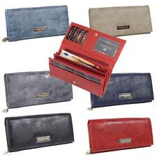Damen Geldbörse groß günstig Portemonnaie Geldbeutel für Frauen viele Karten