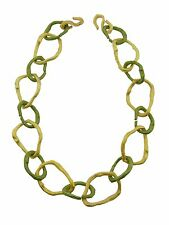 Driftwood Gold & Bronze Link Necklace by Michael Michaud for Silver Seasons
