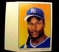1990 Score BO JACKSON ~ 20 CARDS LOT ~ #687 FAMOUS TW0 SP0RT SUPER STAR
