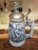 "Vintage 1991 Avon ""Conquest Of Space"" Beer Stein"