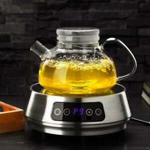 Induction Stove Safe Glass Teapot With Glass Infuser Water Boiling Pot Mug 700ml