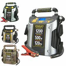Battery Jump Starter Air Compressor Peak Portable Car Charger Booster 600-1200 A