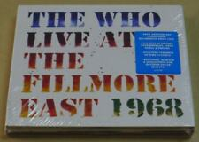 THE WHO LIVE AT THE FILLMORE EAST 1968 2CD DIGIPAK