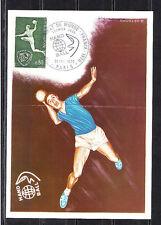 carte  1er jour   championnat du monde de Hand ball    Paris     1970