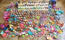 Huge Lot Pre-Owned Littlest Pet Shop Cats Dogs Animals Accessories LPS