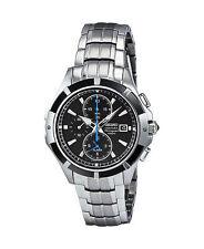 Seiko Stainless Steel Case Wristwatches with Alarm