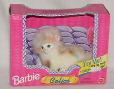 "Vintage Mattel 1995 Barbie ""Calico"" Kitten Meows When You Pet Her Nos Works"