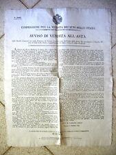 K212-LOMB.VENETO-VERONA VENDITA BENI NAZIONALI ISOLA DELLA SCALA 1846