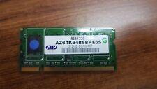 ATP AZ64K64B8BHE6S 512MB DDR2-667 UNBUFFERED NON ECC SO-DIMM