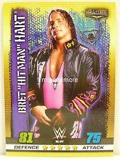 """Slam Attax - #247 bret """"Hit Man"""" Hart - 10th Edition"""