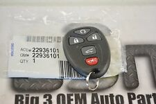 Saturn Outlook Buick Enclave Remote Control Door Lock Transmitter Black new OEM