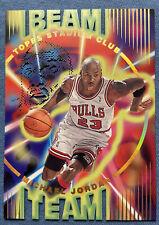 Michael Jordan, 1995 Stadium Club, #B14, Beam Team