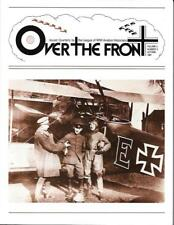 Over The Front V.2 N.3 DFW C.V German POW Jasta 11 Banfield Flieger Abteilung