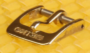 10mm SEIKO Gold-Tone Buckle for Watch Strap Band <VGU>