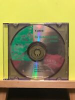 Pre-owned ~ Canon BJ Solution Disk Ver.1.2USCD Software Disc PC CD-Rom, 2001