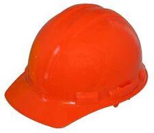 Safety Helmet, 6 Point Ratchet Suspension,Type 1, ANSI/ISEA, Orange