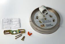 6 Inch Satin Nickel Pan Fitter Ceiling Light Fixture Shade Holder Flush Mount