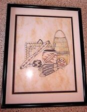 INDIAN ART signed by Beau in 1998  from the Karuk Tribe in northern California