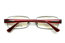 Bvlgari Eyeglasses frame Silver Red 0177 0103 54-17-135 without case