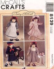 """Betsy McCall's Doll Clothes Pattern 8139 Size 18"""" UNCUT"""