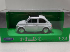 Welly : Fiat 500 white 1965 scale 1:24 item.nr: 22515w