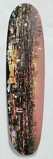 Skateboard Cruiser Los Angeles City Scape Graphic Skateboards Maple Wood D28