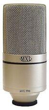 MXL 990 Condenser Microphone Cardioid 48v Phantom Power