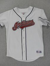 Cleveland Indians Vintage Replica Baseball Jersey (Youth Large) White