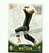 2009 SELECT CRICKET AUSTRALIA SHANE WATSON # 45 PROMO CARD FREE POST